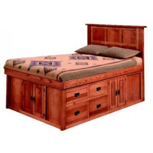 Gallatin Classic Captain's Bed