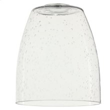 Clear Seeded Glass Shade