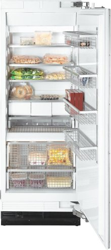 F 1803 Vi MasterCool freezer with high-quality features and maximum storage space for increased convenience.