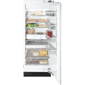 MieleF 1803 SF MasterCool freezer with individual water and ice cube supply thanks to integrated IceMaker.