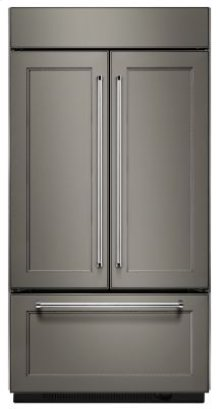 """24.2 Cu. Ft. 42"""" Width Built-In Panel Ready French Door Refrigerator"""