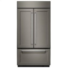 "24.2 Cu. Ft. 42"" Width Built-In Panel Ready French Door Refrigerator"