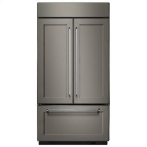 """Kitchenaid 24.2 Cu. Ft. 42"""" Width Built-In Panel Ready French Door Refrigerator"""