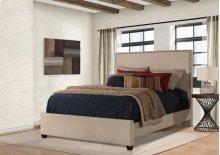 Megan Cal King Bed - Sandstone Linen