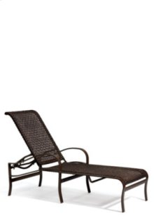 Palladian Woven Chaise Lounge
