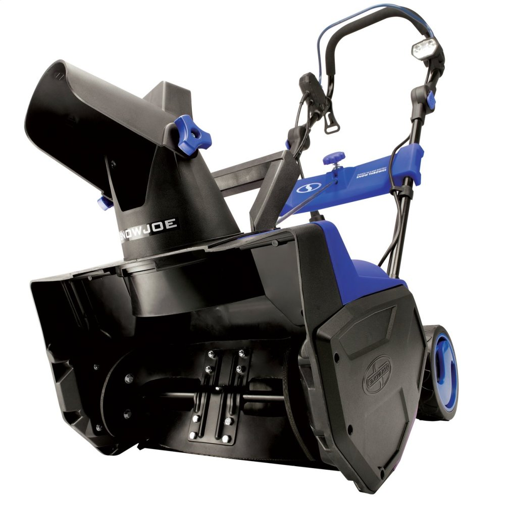 Snow Joe SJ619E Electric Single Stage Snow Thrower  18-Inch  14.5 Amp Motor  LED Lights