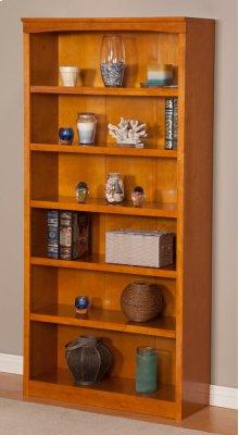 Harvard 72in Book Shelf in Caramel Latte