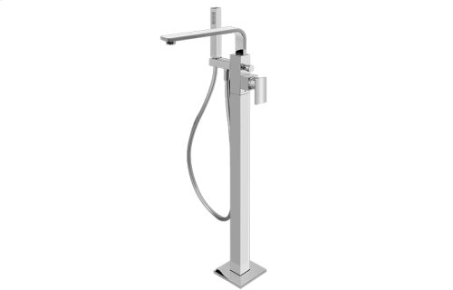 Targa Floor-Mounted Tub Filler