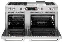 "60"" eight Open Top Burner + 12"" BBQ Burner, Dual Fuel self-clean range, Natural Gas"