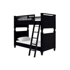 myHaven Bunk Bed Full Over Full  Black  Standard