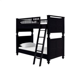myHaven Bunk Bed Full Over Full  Black  Standard