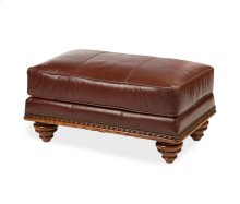 All Leather Chair and 1/2 Ottoman