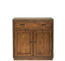 Falls Creek Door/Drawer Storage Unit Chestnut finish
