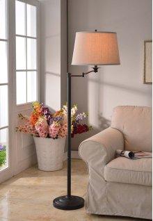 Riverside - Swing Arm Floor Lamp