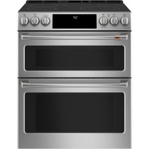 """Café 30"""" Slide-In Front Control Radiant and Convection Double Oven Range Product Image"""