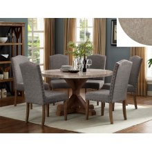Crown Mark 1211 Vesper Marble Dining Group