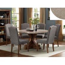 Vesper Round Marble Table Base