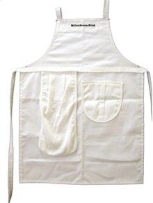 KitchenAid® Cotton Canvas Detachable Towel - White