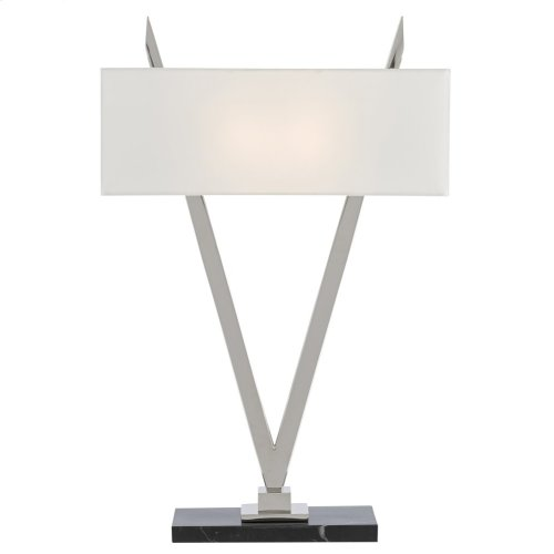 Willemstad Nickel Table Lamp