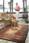 Fresh Air Brown Multi Machine Woven Rugs