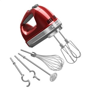 Kitchenaid9-Speed Architect Series Hand Mixer - Candy Apple Red