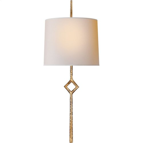 Visual Comfort S2406GI-NP Studio Cranston 1 Light 7 inch Gilded Iron Decorative Wall Light