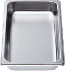 "Cooking pan - half size, 1 5/8"" deep"