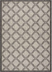 Country Side Ctr02 Ivory/charcoal Rectangle Rug 5'3'' X 7'3''