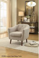Accent Chair Beige Product Image