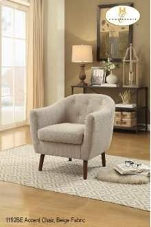 Accent Chair Beige