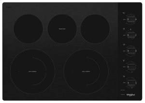 30-inch Electric Ceramic Glass Cooktop with Two Dual Radiant Elements Product Image