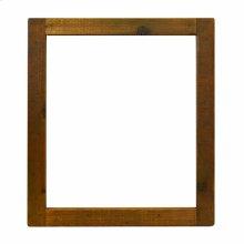 Small Americana Mirror in Chestnut