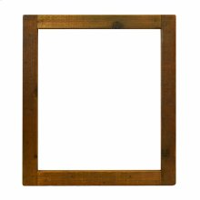 Small Americana Mirror in Chestnut