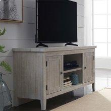 60 Inch TV Console - White