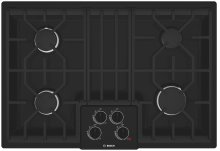"30"" Gas Cooktop 500 Series - Black"