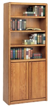 Bookcase with Lower Doors Product Image