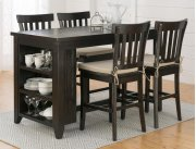 Prospect Creek Reclaimed Pine Slat Back Counter Height Stool Product Image