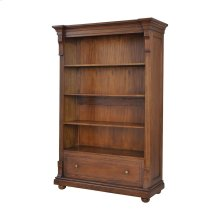St Joseph Open Double Cabinet In Woodlands Stain