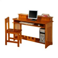 Desk/Hutch & Chair Honey