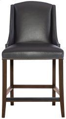 Slope Leather Bar Stool in Cocoa Product Image