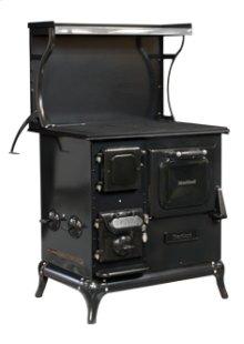 Black Blackwood Wood Cookstove