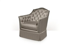 Catriona Upholstered Chair - Tufted & Skirted