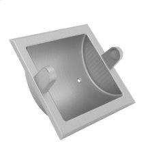Satin Nickel - PVD Recessed Toilet Tissue Holder