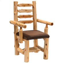 Arm Chair - Natural Cedar - Standard Fabric