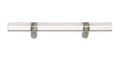 Optimism Rail Pull 3 Inch (c-c) - Brushed Nickel