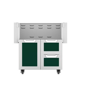 "Hestan30"" Hestan Outdoor Tower Cart with Door/Drawer Combo - GCR Series - Grove"