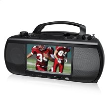 7 inch Portable Digital TV + DVD/CD Mini System