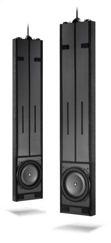 Dual 13.5-inch (345 mm) In-Wall Powered Subwoofer System
