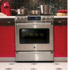 GE Cafe Series Free Standing Dual-Fuel Range with Baking Drawer Product Image