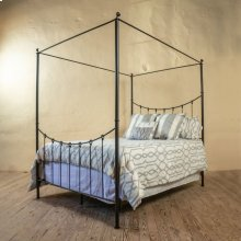 Knot Canopy Queen Iron Bed